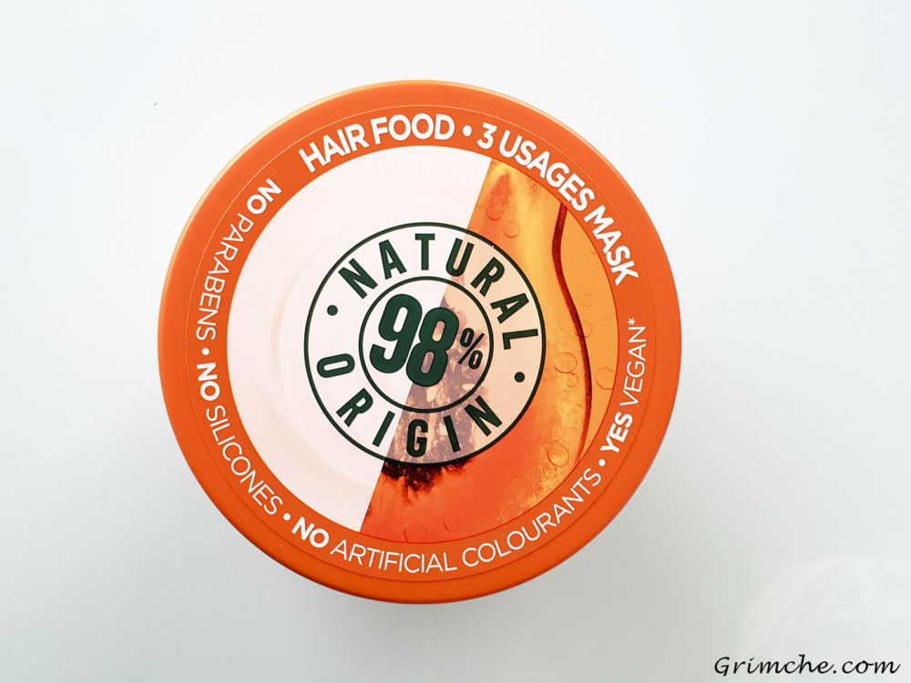Garnier papaya food mask